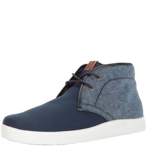 Ben Sherman Mens Vance lace Up high top Sneakers